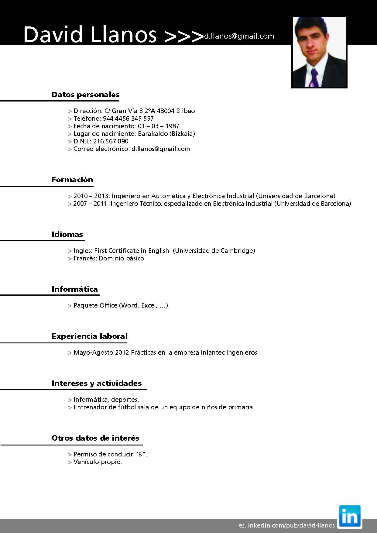 Curriculum vitae para entrenador futbol. blog.rieju.es